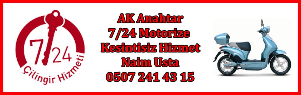 motorize 724 sultangazi çilingir banner